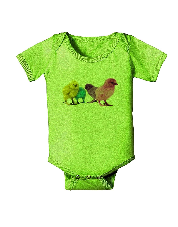 TooLoud Real Life Peepers Baby Romper Bodysuit