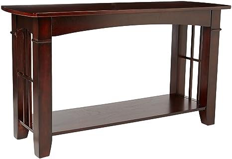 Wondrous Coaster Home Furnishings Abernathy Sofa Table With Shelf Merlot Alphanode Cool Chair Designs And Ideas Alphanodeonline