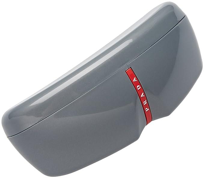 60a81272d36f Amazon.com  Prada Sport Sunglasses - PS53NS   Frame  Silver Blue Lens  Gray  Gradient  Prada Sport  Sports   Outdoors