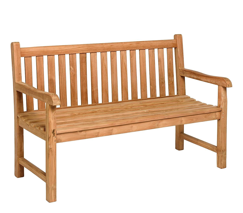 Schlichter Möbel Tierra Gartenmöbel Gartenbank Cordoba Teak 3 - Sitzer (150 cm)