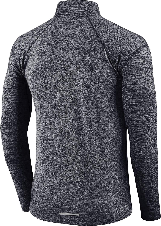 Nike Men's Dry Element 1/2 Zip Running Top Grey AQ7903 021 (m) by Nike (Image #2)
