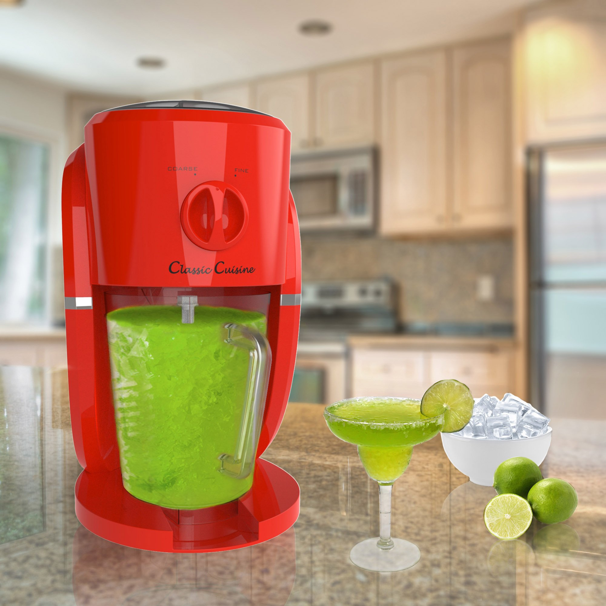 Frozen Drink Maker, Mixer and Ice Crusher Machine for Margaritas, Pina Coladas, Daiquiris, Shaved Ice Treats or Slushy Desserts by Classic Cuisine by Classic Cuisine (Image #3)