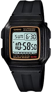 Casio F-201W-9AUDF (D030) D030 (D030) - Reloj para