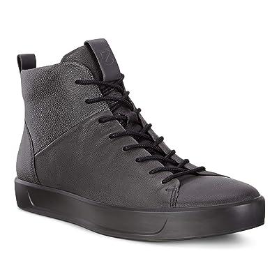 ECCO Men's Soft 8 High Top Fashion Sneaker   Fashion Sneakers