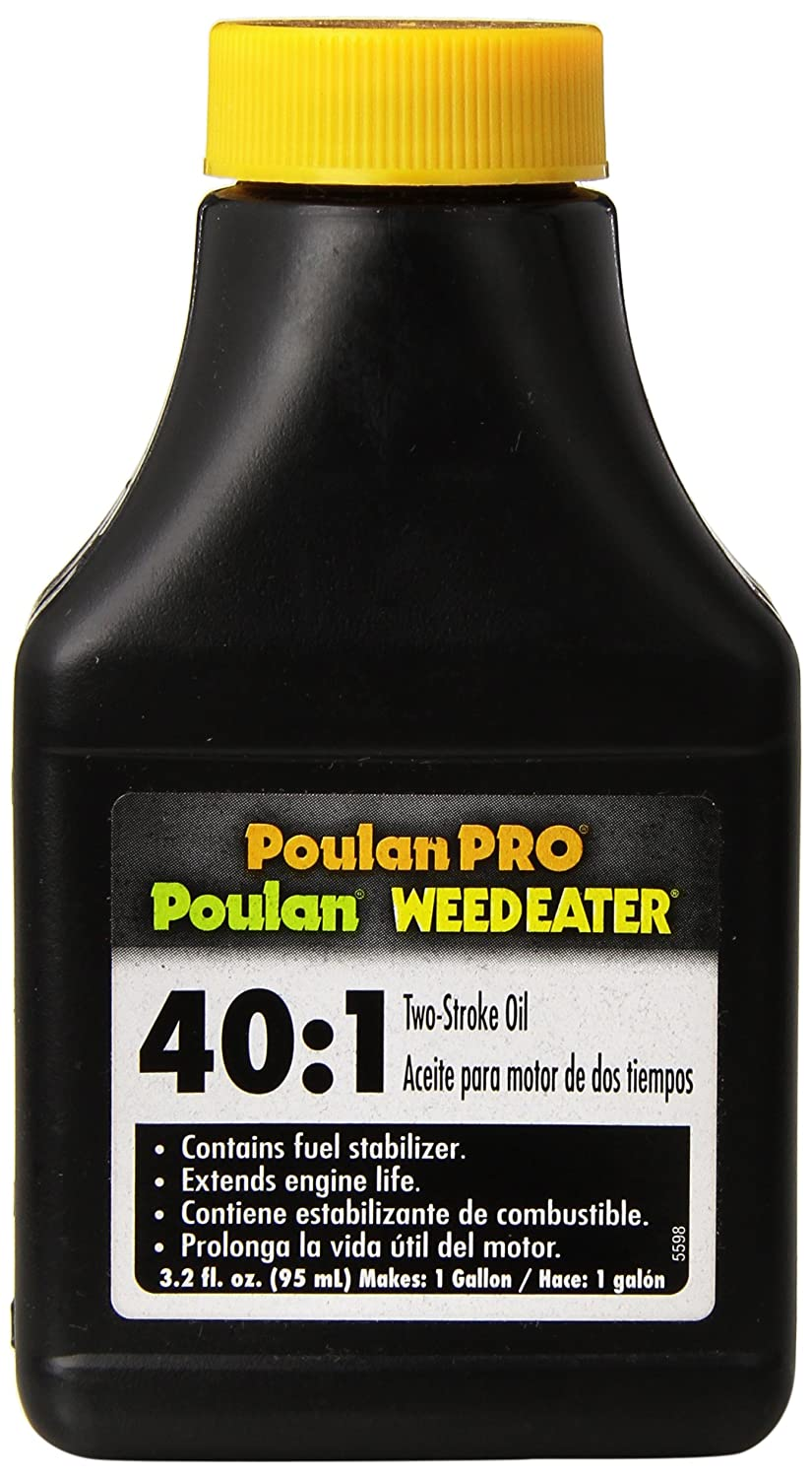 poulan 952030133 40 1 2 cycle oil 3 2 ounce bottle amazon ca rh amazon ca Gas Weed Eater Electric Weed Eater