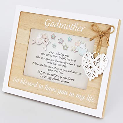 Amazon.com - Godmother Frame 4x6 Perfect Godmother Gifts from ...