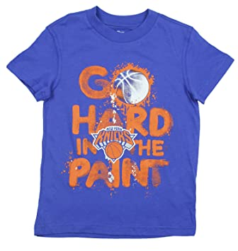 NBA New York Knicks juventud duro en la pintura, camiseta de manga corta, color