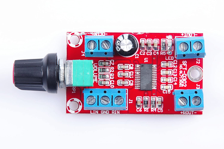 Knacro 30w Digital Amplifier Board Class D Pwm 12wamplifiercircuitusing741opamp Modulation 20 Double Track 12v Wide Voltage Input Rear Stage Power Suitable