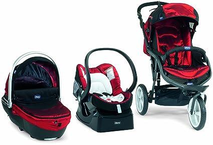 Chicco 4079501720000 Travelsystem Trio S3 - Carrito convertible (3 ...