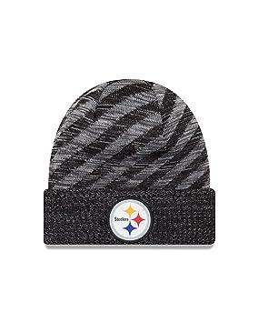 8d2c48ef6d0 New Era NFL Sideline 2018 Knit Beanie - Pittsburgh Steelers  Amazon ...