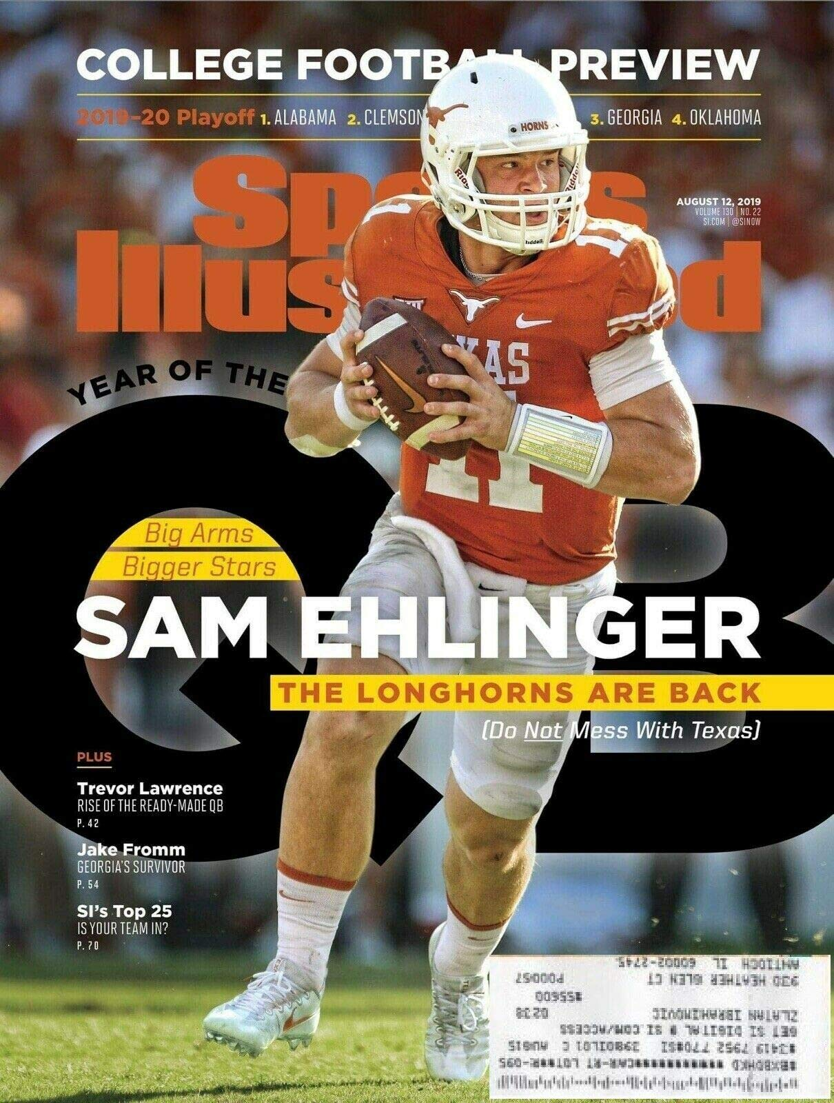 huge discount cf295 43055 Sports Illustrated 2019 College Football Preview - Sam ...