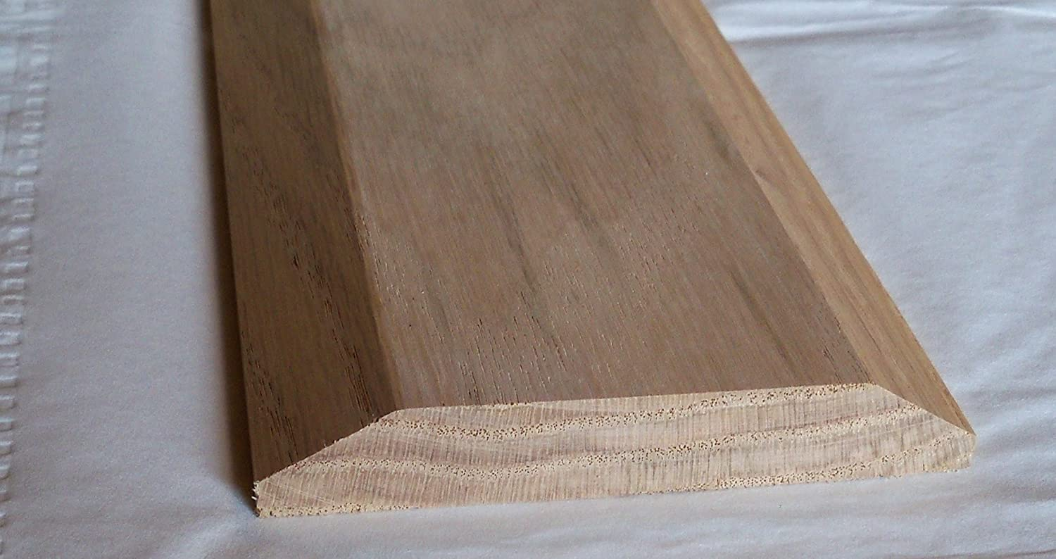 Solid Red Oak Interior Threshold Style A 3 1//2 inches x 48 inches