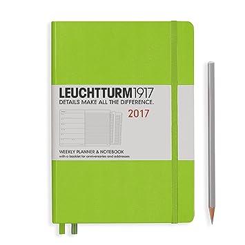 Leuchtturm1917 348232 - Agenda semanal 2017, notas, A5 ...