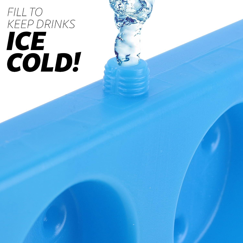 Amazon.com: GoPong N-Ice Freezable Beer Pong en rack rack ...