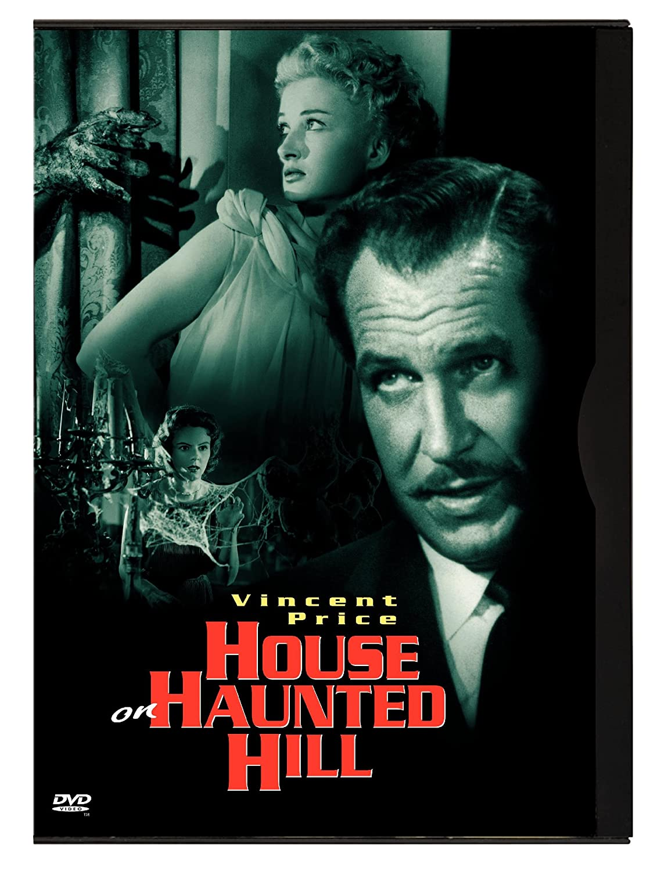 Amazon.com: House On Haunted Hill: Vincent Price, Carol Ohmart, Richard  Long, Alan Marshal, Carolyn Craig, Elisha Cook Jr., Julie Mitchum, Leona  Anderson, ...