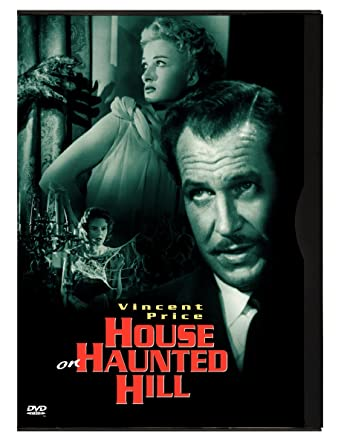 Amazon Com House On Haunted Hill Vincent Price Carol Ohmart Richard Long Alan Marshal Carolyn Craig Elisha Cook Jr Julie Mitchum Leona Anderson Howard Hoffman Skeleton Carl E Guthrie William Castle Roy V