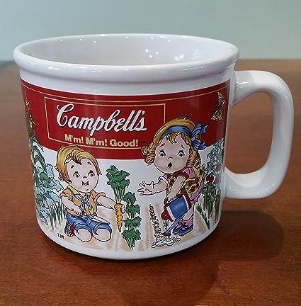 Amazon.com | Campbell\'s Soup Kids Soup MUG Campbell Soup 1993 ...