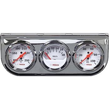 Bosch SP0F000046 Style Line 2″ Triple Gauge Kit