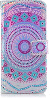 MoreChioce Coque Galaxy J6 2018,Coque Galaxy J6 2018 Glitter,Coque Rabat pour Galaxy J6 2018, Paillette Strass Flip Case Coloré Motif Queue de Poisson Etui en Cuir Housse de Protection