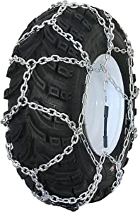 Grizzlar GTN-521 Garden Tractor/Snowblower Net/Diamond Style Alloy Tire Chains 4.00-4, 4.10-6, 13x4.00-6