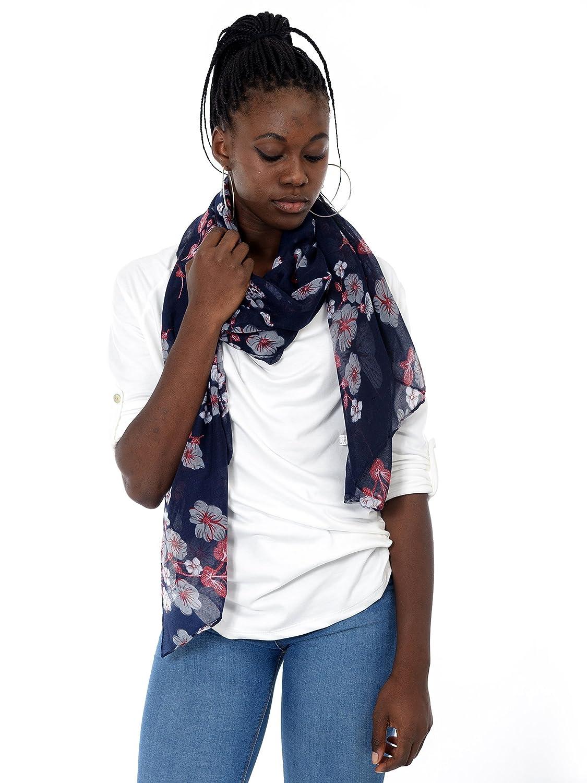 Mer's Style - Foulard Sciarpa Floreale Donna MS-1000067