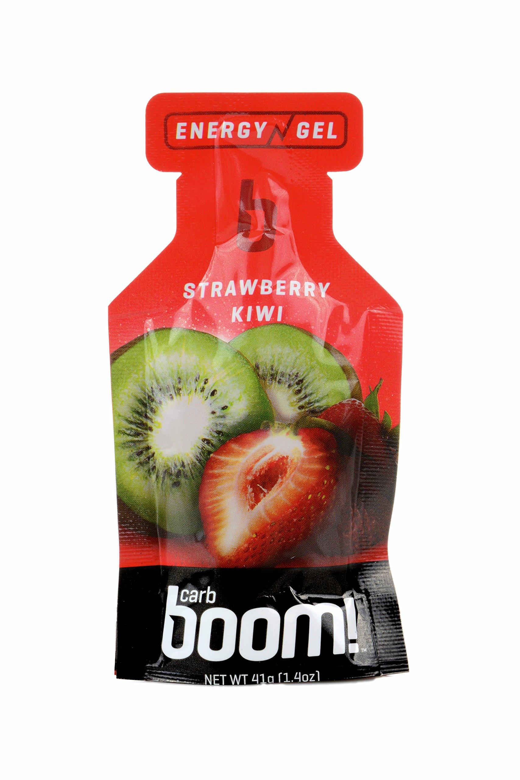 Carb Boom! Energy Gel (Strawberry Kiwi) - 24 pack