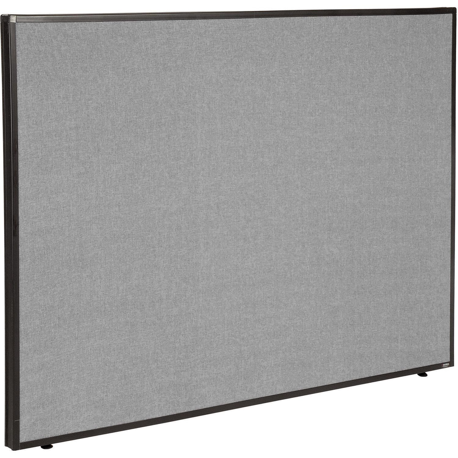 60-1/4''W x 42''H Office Partition Panel, Gray by Global Industrial