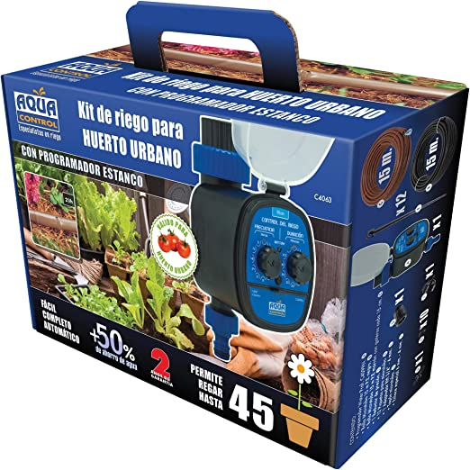 Kit riego mesas de cultivo Aqua Control: Amazon.es: Jardín
