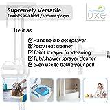 Luxe Handheld Cloth Diaper Sprayer Toilet