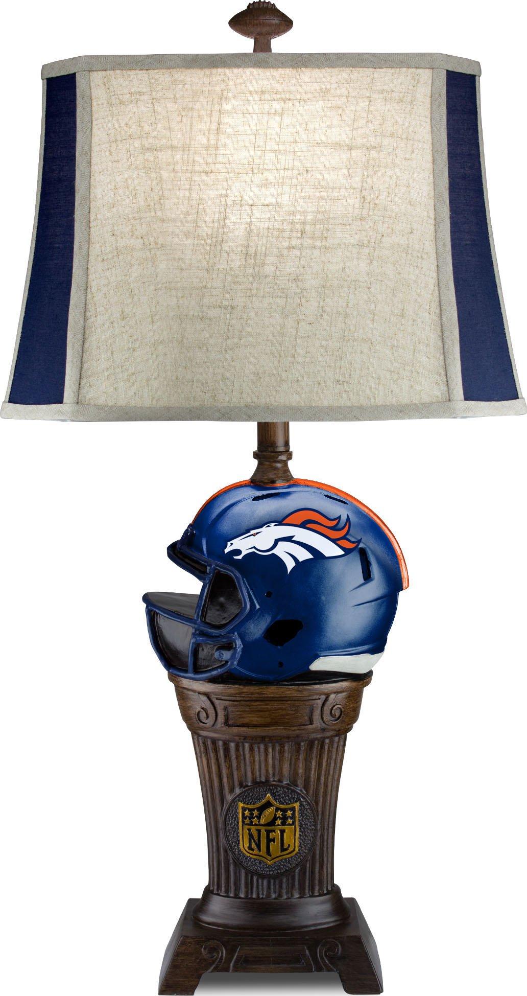 Imperial Officially Licensed NFL Merchandise: Trophy Lamp, Denver Broncos