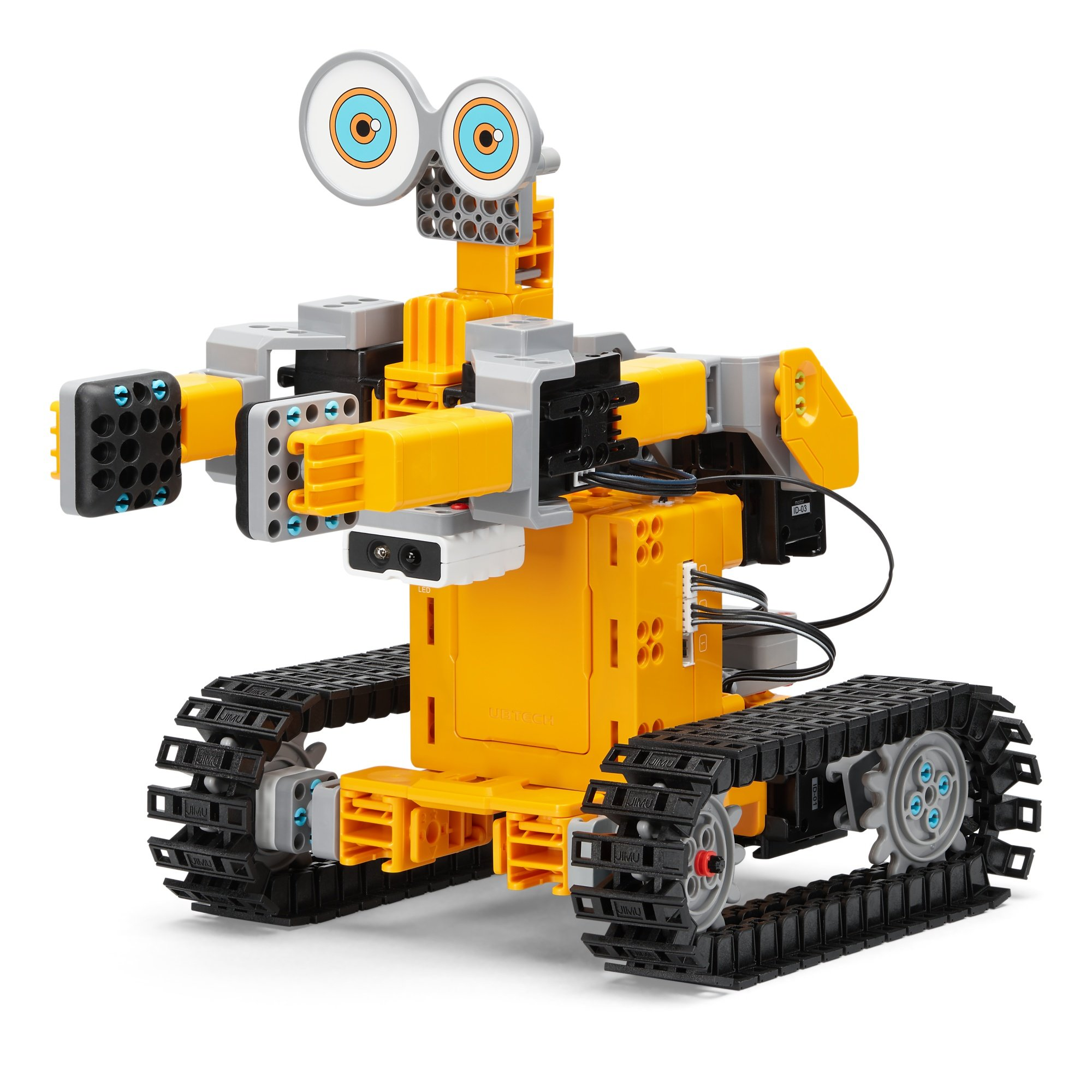 UBTECH Jimu Robot Tankbot App Enabled Stem Learning Robotic Building Block Kit