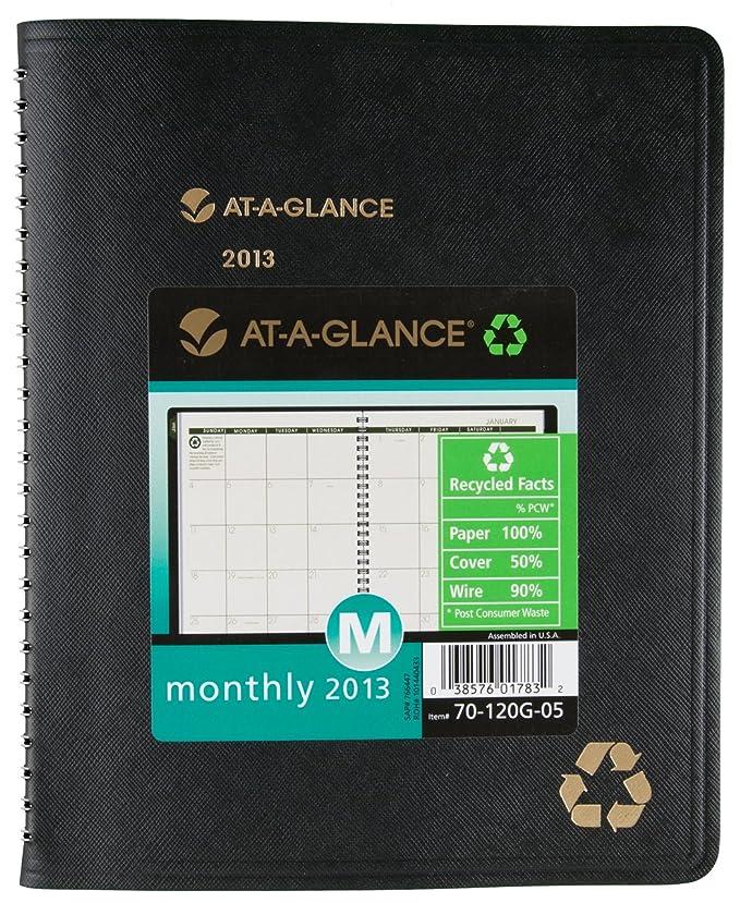 Amazon.com: At-A-Glance – Calendario Planificador Mensual ...