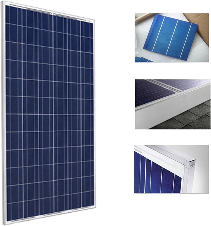 Placa Solar 300w Panel Solar Fotovoltaico Polycrystalline con Cables y Conectores