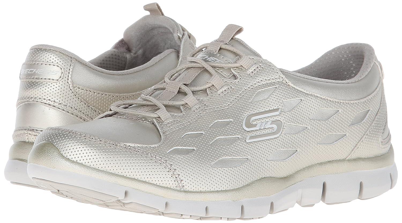 Amazon.com | Skechers Women's Gratis Forward Motion Bungee Lace Shoe |  Walking