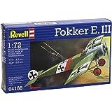 Revell Fokker E.III 1:72 Assembly kit Fixed-wing aircraft - maquetas de aeronaves (1:72, Assembly kit, Fixed-wing aircraft, Fokker E.III, Military aircraft, De plástico)