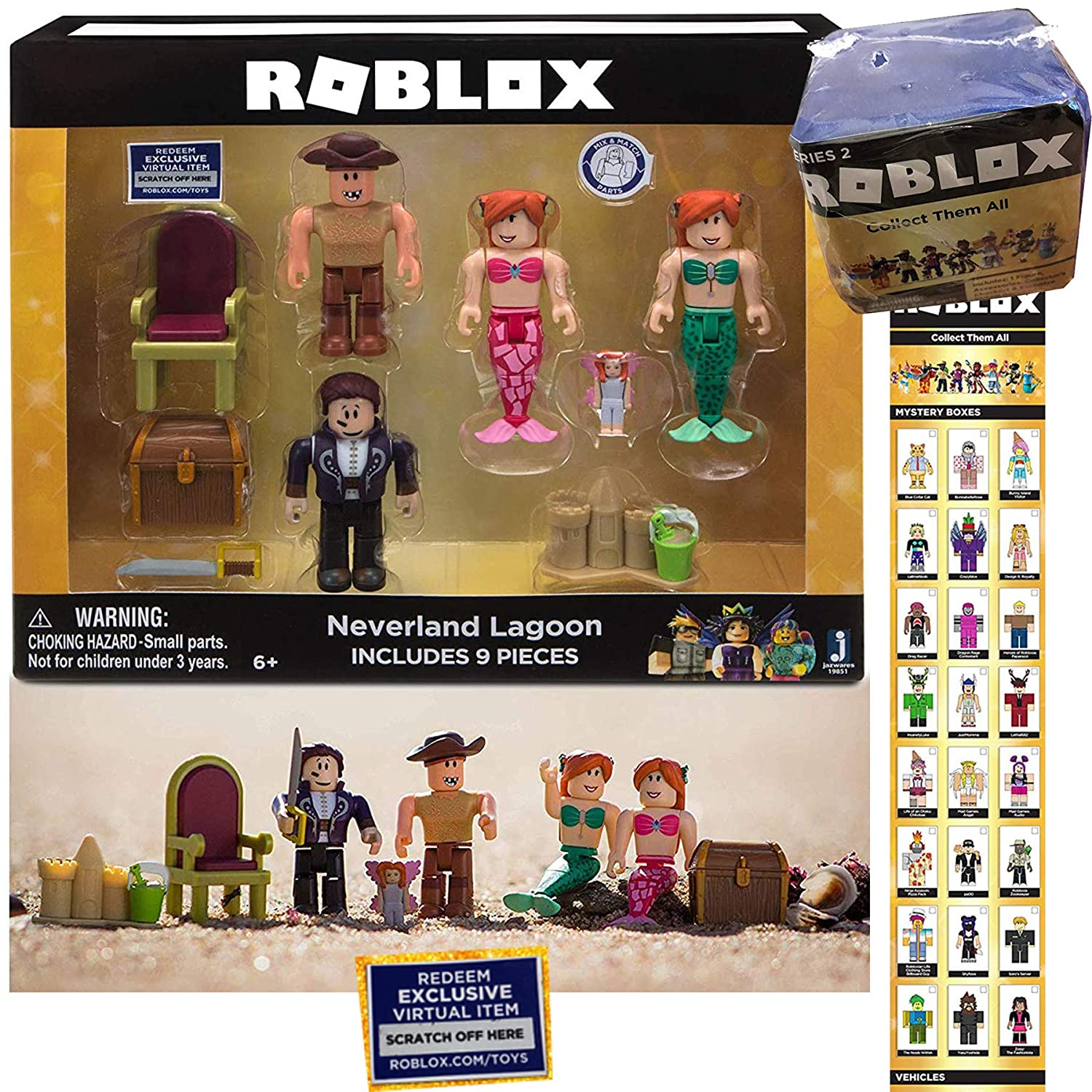 Amazon com: by The Sea Roblox Video Game Characters Buck-Eye Pirate