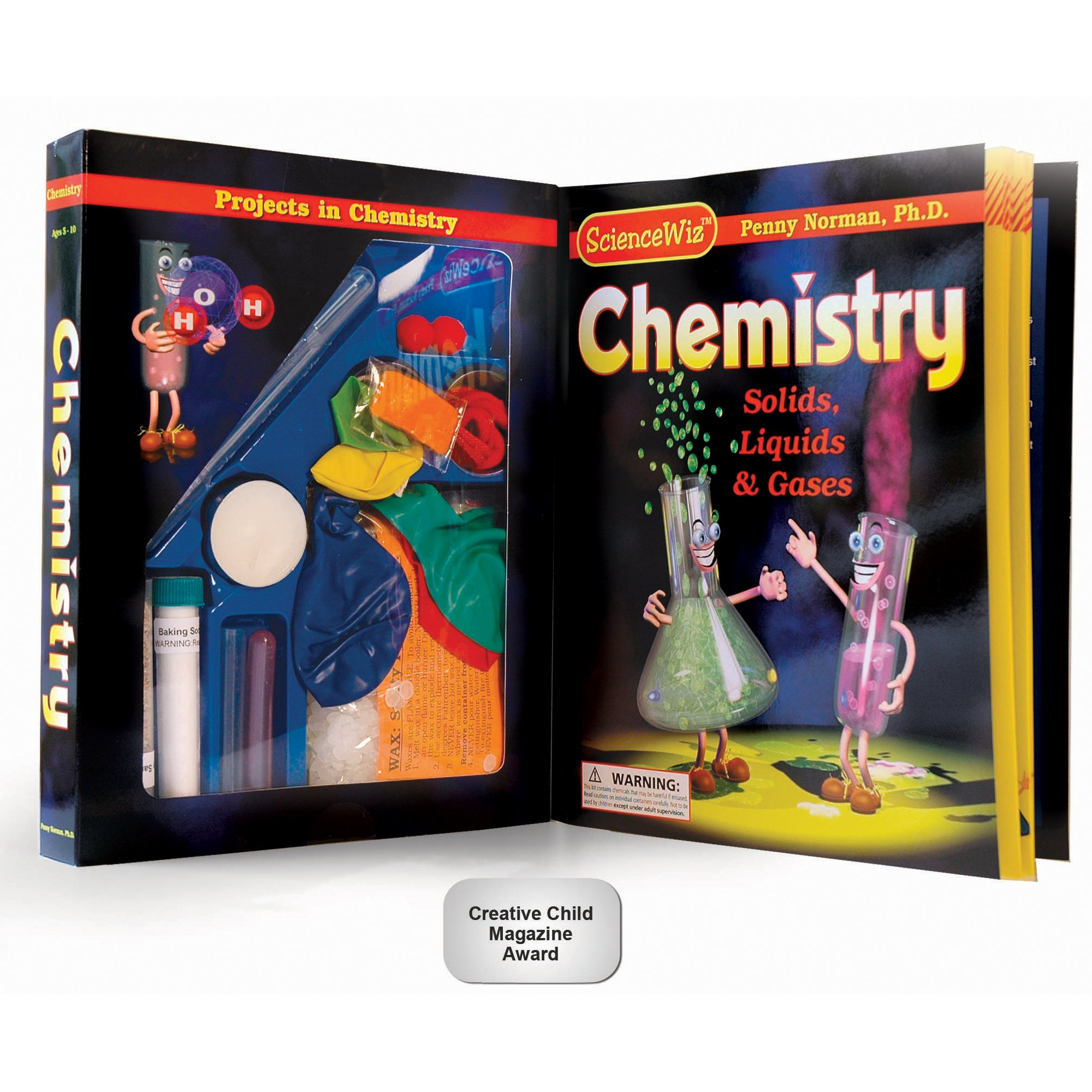 Science Wiz Chemistry Experiments Kit