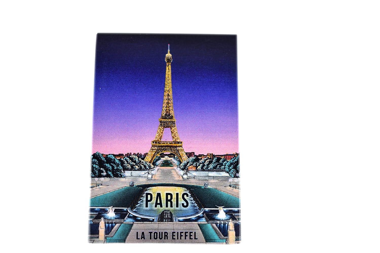 Lot de 3 Magnets Monuments de Paris de Nuit