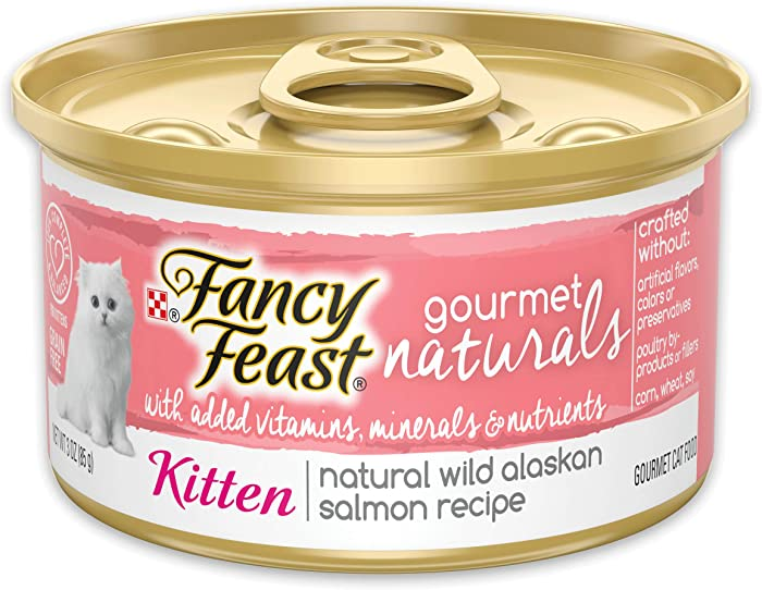 The Best Fancy Feast Natural Cat Food Wild Alaskan Salmon