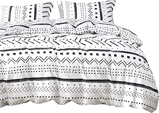 Amazon.com: Wake In Cloud   Aztec Comforter Set, 100% Cotton