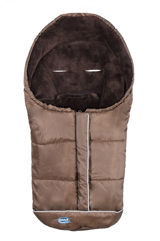 Urra 800-1000-15 - Saco de dormir para carrito de bebé, color marrón: Amazon.es: Bebé