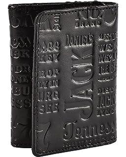 ee4bb12d3ddcd Jack Daniel s Men s Old No. 7 Collection Black Roper Wallet - Black ...