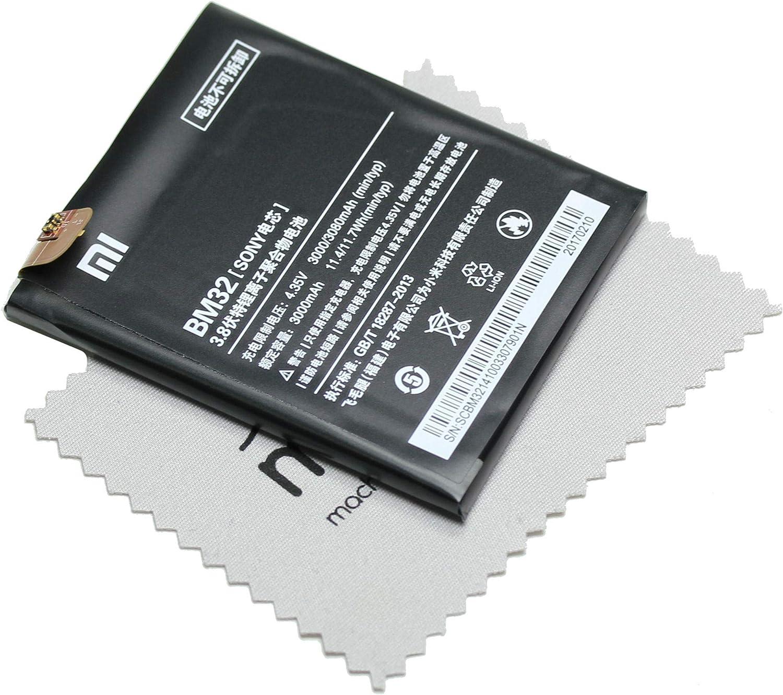 Batería para Xiaomi Original BM32 para Xiaomi Mi 4 + paño mungoo