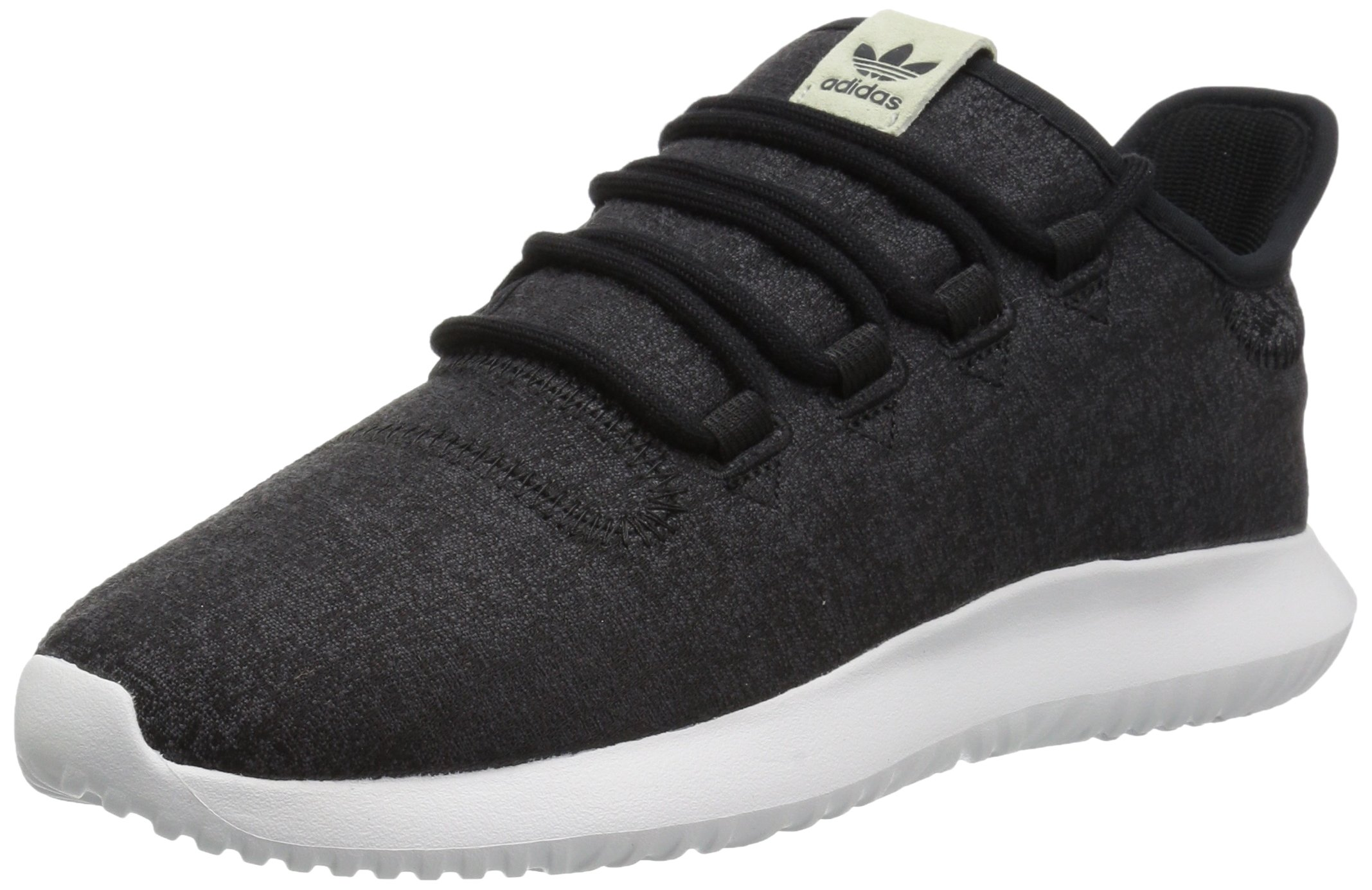 adidas Originals Women's Tubular Shadow W Running Shoe, Black/Grey Five/White, 5 Medium US