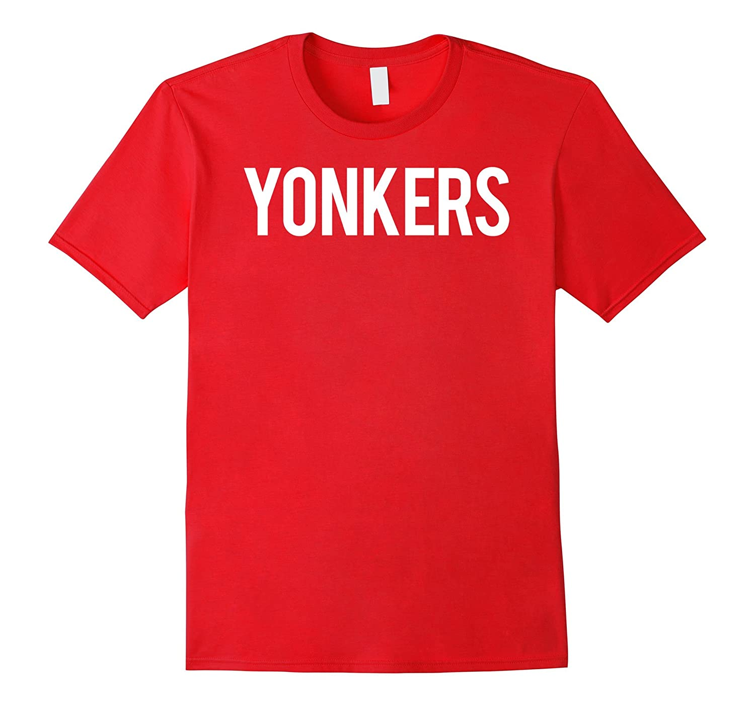 Yonkers T Shirt Cool NY State city fan funny cheap gift tee-Vaci