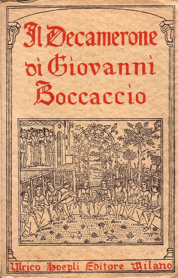 Il Decamerone. : BOCCACCIO Giovanni -: Amazon.es: Libros