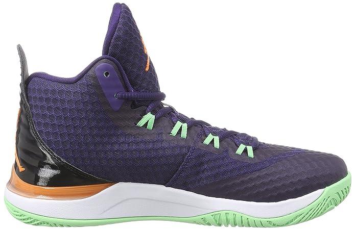 new concept be28f 7bebe Amazon.com   Nike Jordan Mens Jordan Super.Fly 3 Po Ink Bright Mandarin Blk  White Basketball Shoe 11 Men US   Basketball