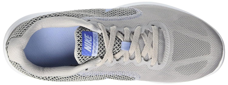 NIKE Women's B01H605DD0 Revolution 3 Running Shoe B01H605DD0 Women's 11.5 B(M) US|Wolf Grey/Aluminum/Black/Blue Tint 052e0f