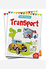 Little Artist Series Transport: Copy Colour Books Paperback