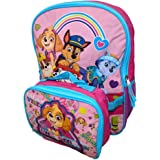 Paw Patril Girls Be Awesome, Be You! 16 Inch Backpack with Insulated Lunch Box
